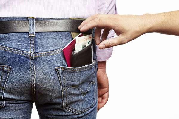 Хищение паспорта гражданина
