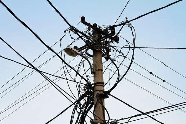 Повреждение общих электросетей