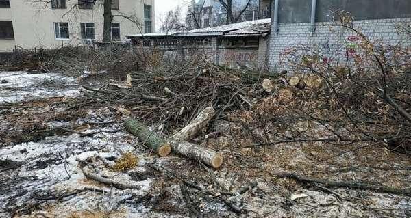 уничтожение природных ресурсов