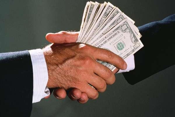 Дача взятки как подкуп
