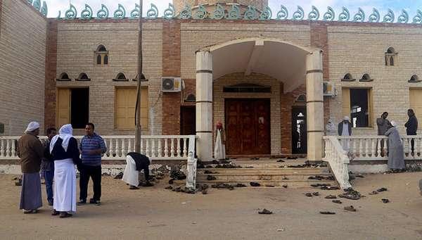 Мечеть - объект террористического акта
