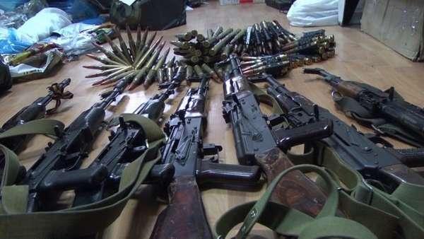 хищение оружия