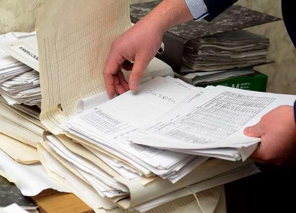 изъятие предметов или документов