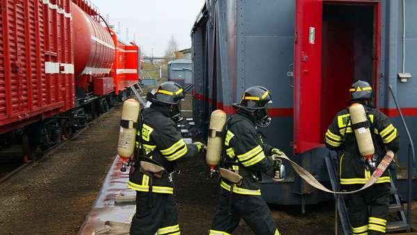 Пожарная безопасность на ЖД