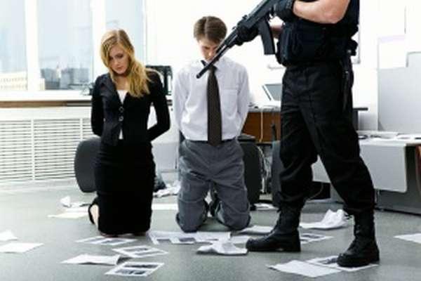 Правила поведения при захвате в заложники