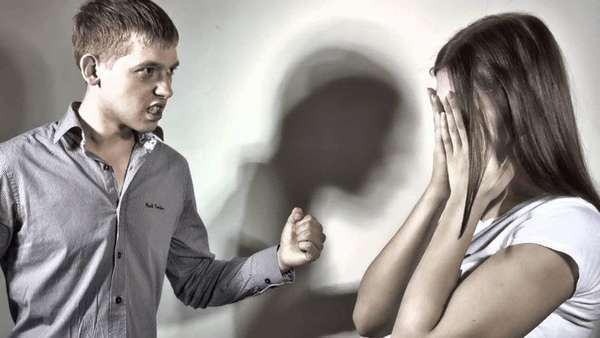 Унижение с применением насилия