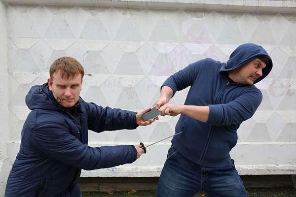 Защита при ограблении