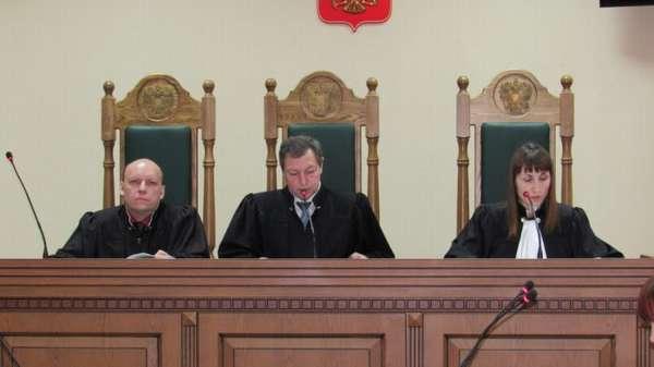 председательствующий судья