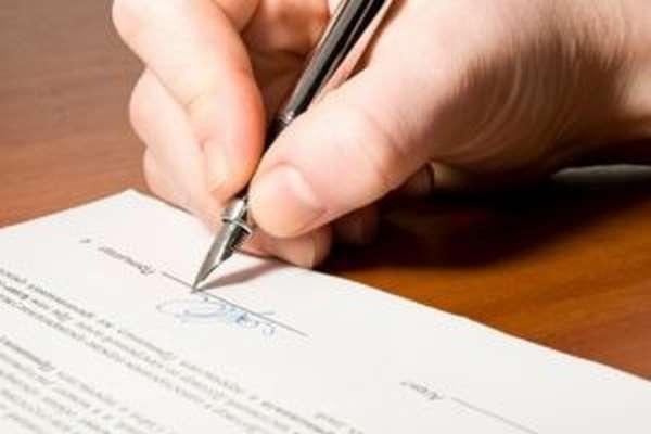 Требования к составлению бумаги
