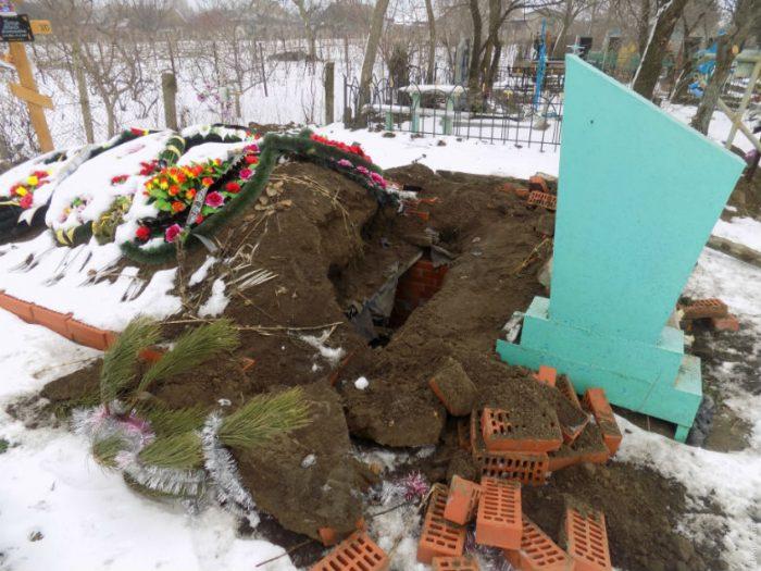 разграбления могил