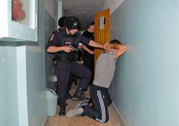 порядок задержания подозреваемого