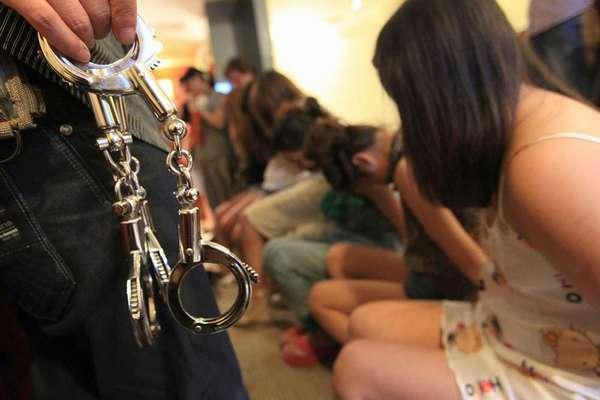 Незаконная торговля людьми