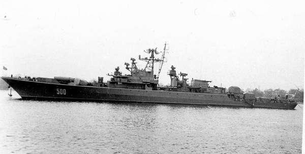 Военный противолодочный корабль «Сторожевой»
